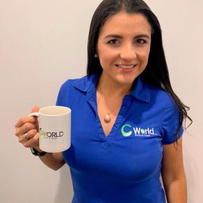 Colombian in New Zealand - Karen Alvarado from Cworld Agency