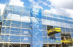 Stockwel Scaffolding commercial Project