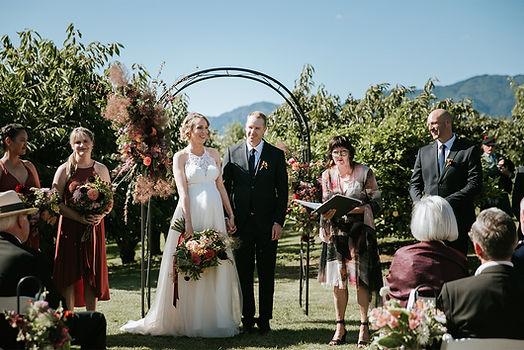 Wedding celebrant in New Zealand
