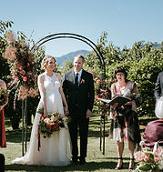 Iona and Adam wedding new zealand