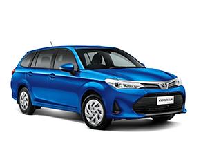 Toyota Corolla Station Wagon - Rental Car in New Zealand