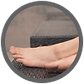 people are likely to have athlete's foot at any one time in their lives