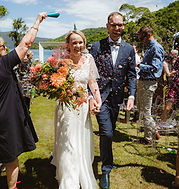 Clare and Isaac Wedding new zealand