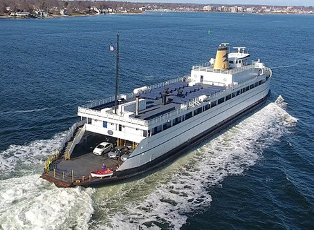 D-day ship turned ferry re-powered with Twin Disc