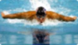 Zwemmen, duiken, zwembroek, duikbril