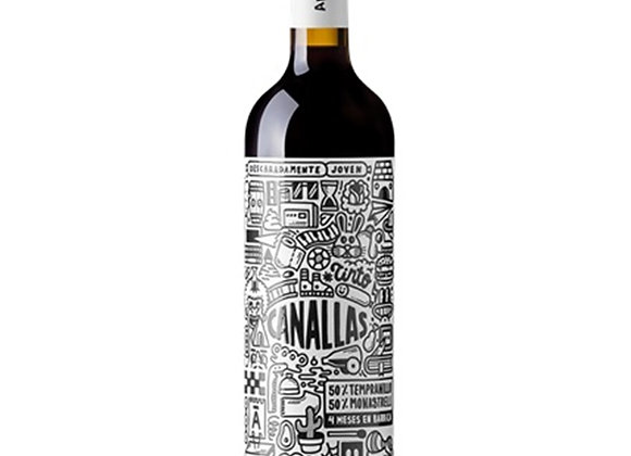 Arráez - Canallas Tinto 750ml