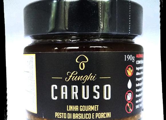 Pesto Di Basílico e Porcini 190g
