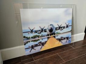3:16%22 Acrylic Photo Print w StandOffs