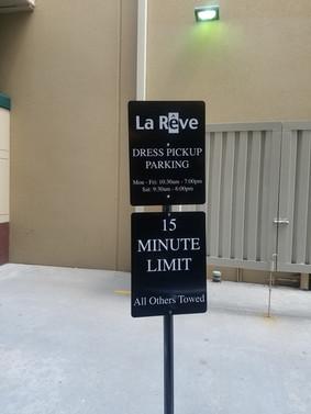 Aluminum Parking Signage