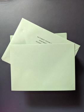 A7 Envelopes - Custom Printed