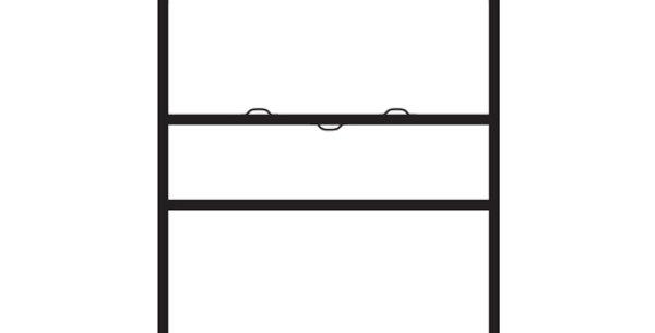 18″x24″ Slide-in H-Frame