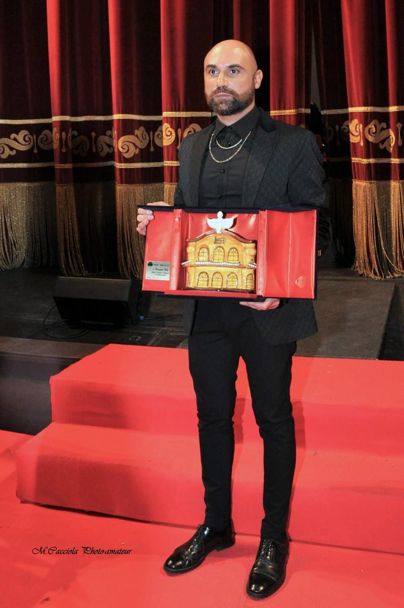 Giuseppe Fata riceve il Premio Bellini 2019