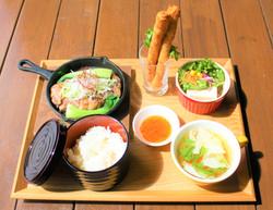 中華風サーロインステーキセット3