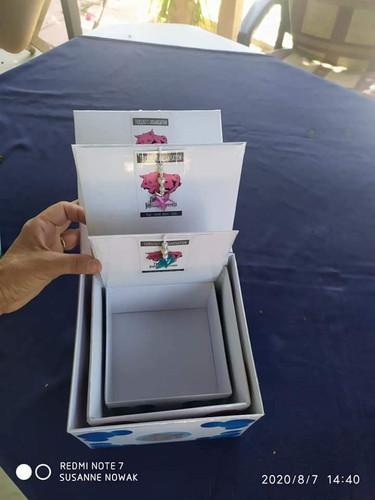 Handgefertigte Aufbewahrungsboxen