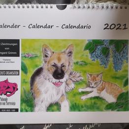 Kalender2021 Nanuk und Dani