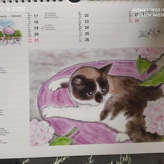 Februar Flor