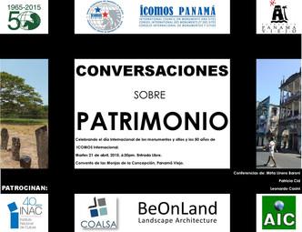 ICOMOS Conversaciones sobre PATRIMONIO