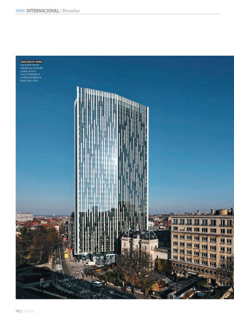 Rehabilitación Torre Astro Bruselas