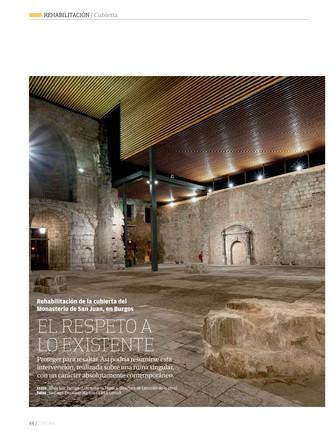 Rehabilitación de la cubierta del Monasterio de San Juan