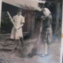 a1950s Teen girls sweeping.jpg