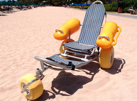 Floating Beach Wheelchairs now in Singapore!
