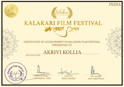 """Official Awards Nomination for our short film """"ConScience"""""""