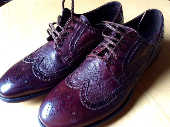 Maledetti Toscani Montepulciano-Cortona Chocolate brown brogue shoes