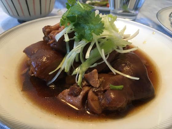 Slow cooked Pork feet!