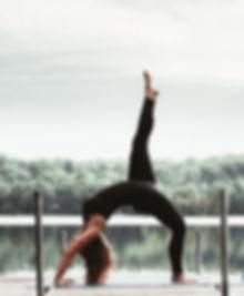 Stephanie Delorme yoga teacher Libella by the lake retreats in Quebec