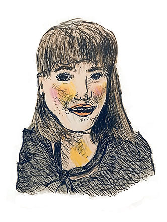 Sophia Furman Illustration Self Portrait