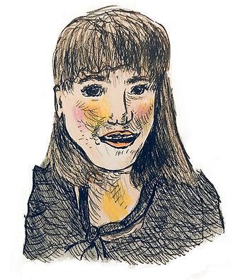 Sophia Furman Illustration Self Portrait