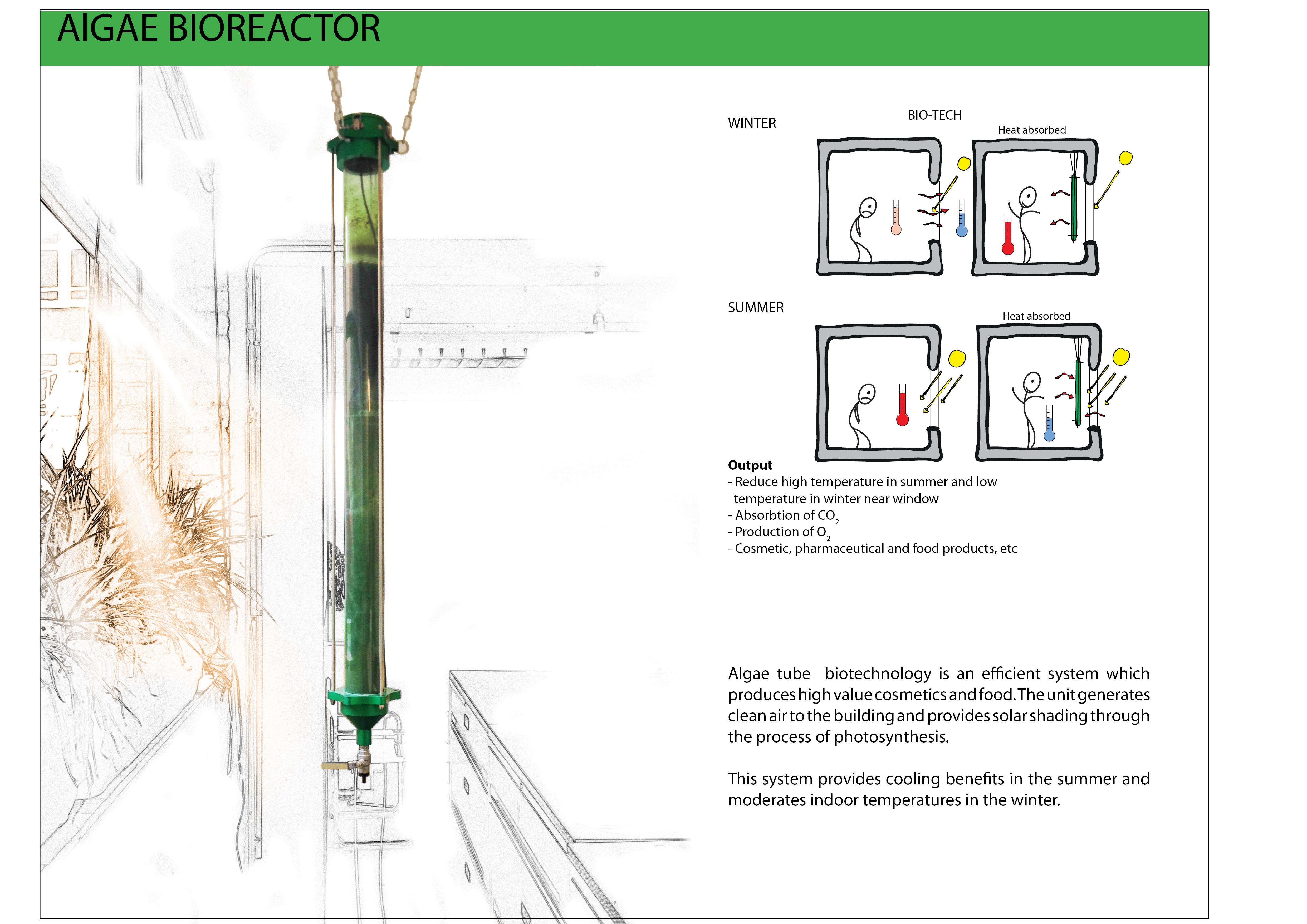 Product Profile: Algae Bioreactor