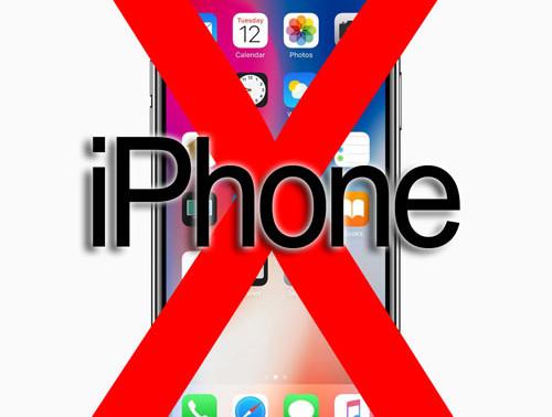 iphone x: not so futuristic