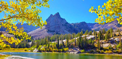 Lake Blanche  With Trees
