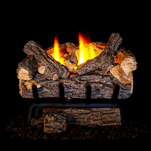 Real Fyre Valley Oak-22,000 BTU | Gas Log Sets Vent Free