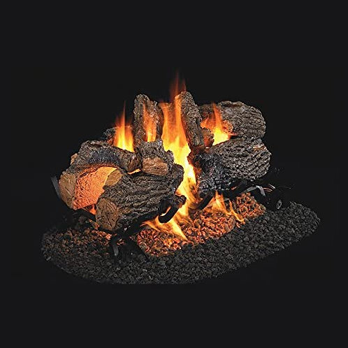 Real Fyre Charred Oak See Thru | Gas Log Sets Vented