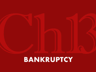 CH 13 Bankruptcy