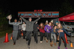 Finish line for Harvest Moon Run-United States