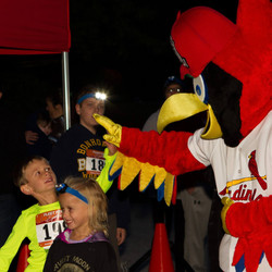 Kids Run with Fred Bird for Harvest Moon