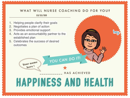 What will Nurse Coaching Do for You?