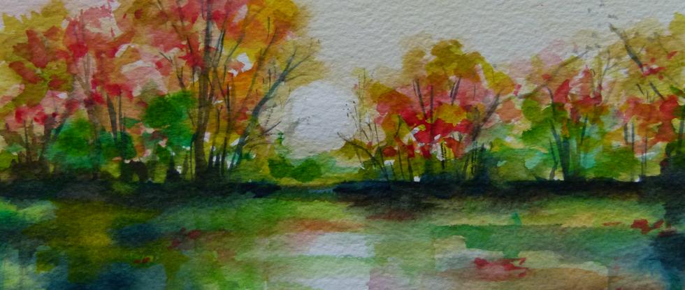 Autumnal English Landscape