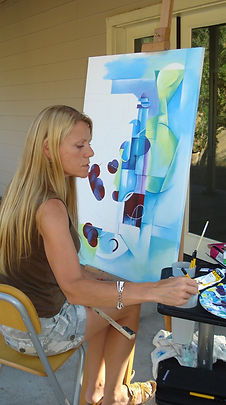 Painting the Cubist still life.jpg