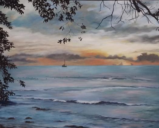 Barbados sea.