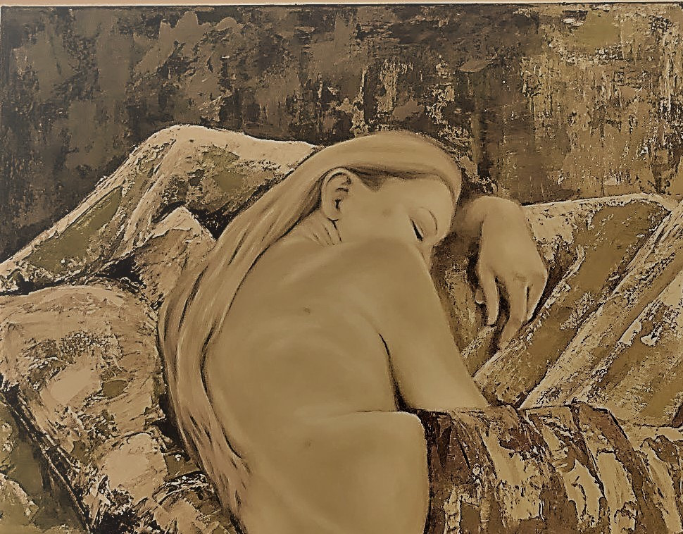 Sleeping in sepia.
