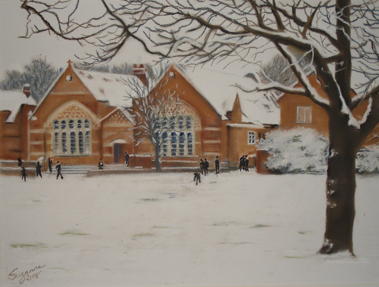 Gordon's Rec in snow.