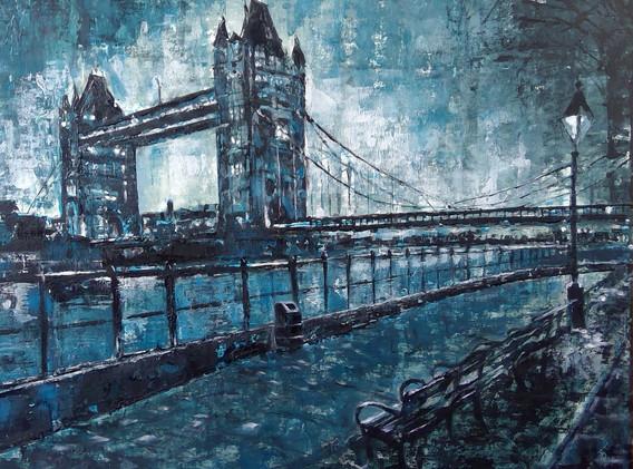 London Bridge in Lockdown