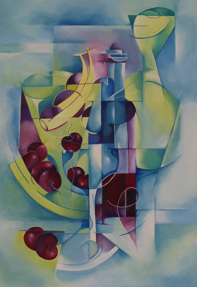 Cubist Still life.