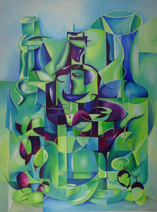 Cubist Composition.