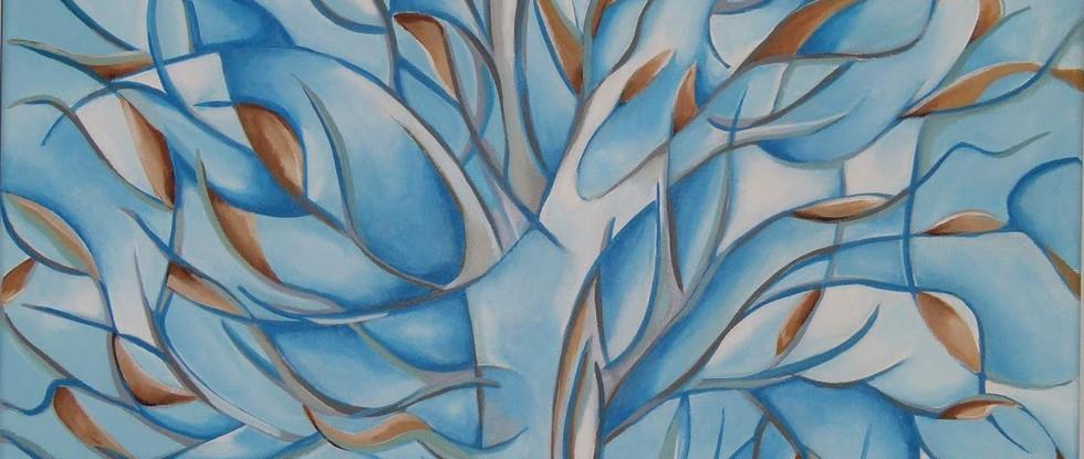 Abstract Autumnal Tree