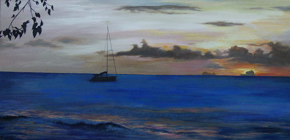 Barbados Seascape.